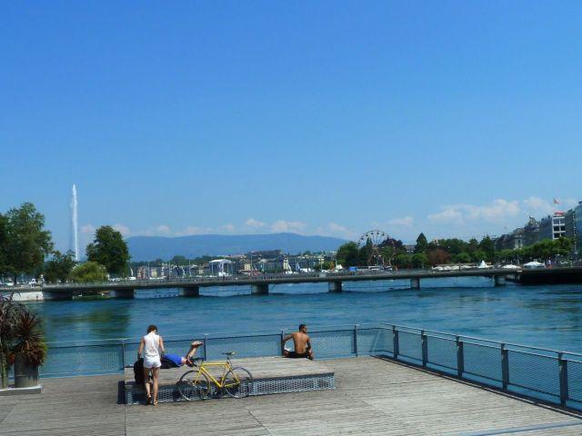 Genf, Balpart és a hidak P1340475