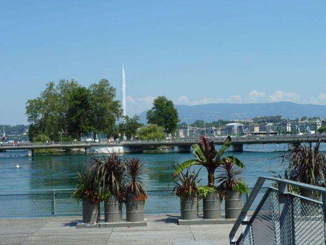 Genf, Balpart és a hidak P1340477