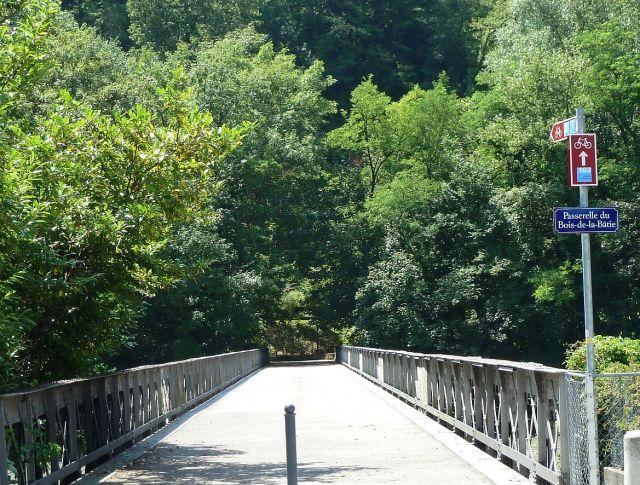 Bois de la Batie felé a Passerellén P1330763