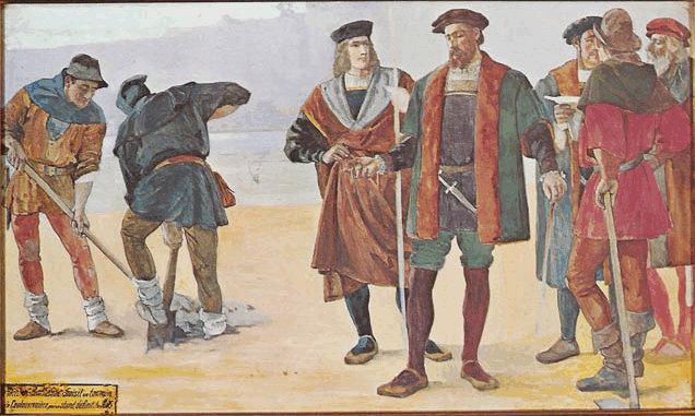 Edouard Castres freskó, 1899