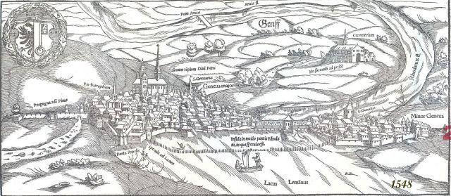 Genf erődítményrendszerei 1548