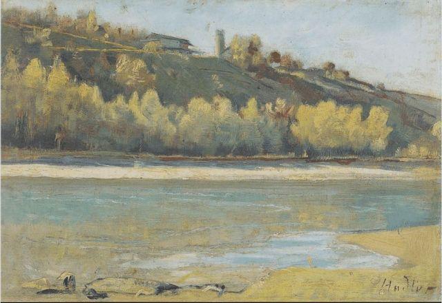 Hodler- A Jonctionnál, 1880