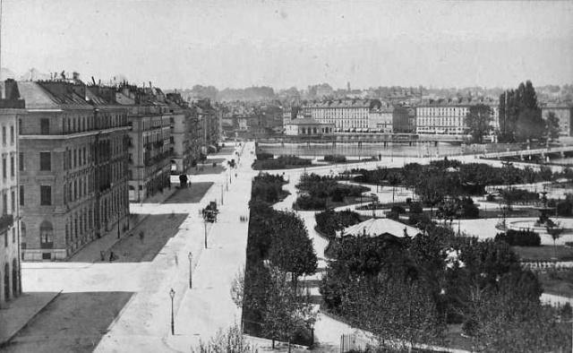 Jardin Anglais 1900 előtt
