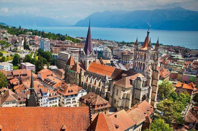 Lausanne - Notre Dame katedrális