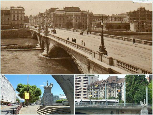 Pont Coulouvreniére kollázs 2