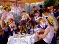 Renoir Csónakosok reggelije