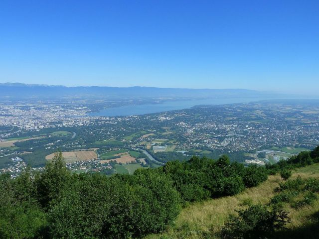 Saléve P1360709 Genf és a Genfi tó a Saléveről