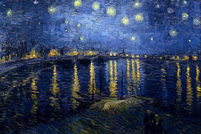 Starry_Night_Over_the_Rhone- Van Gogh