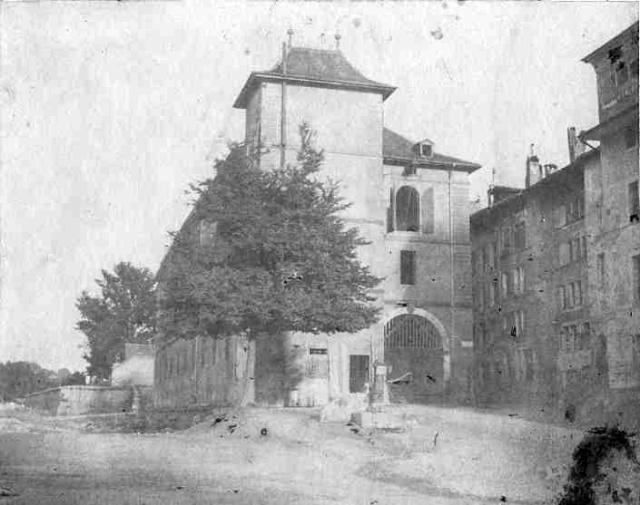 Boucheries de Longemalle, Genf 1900 előtt