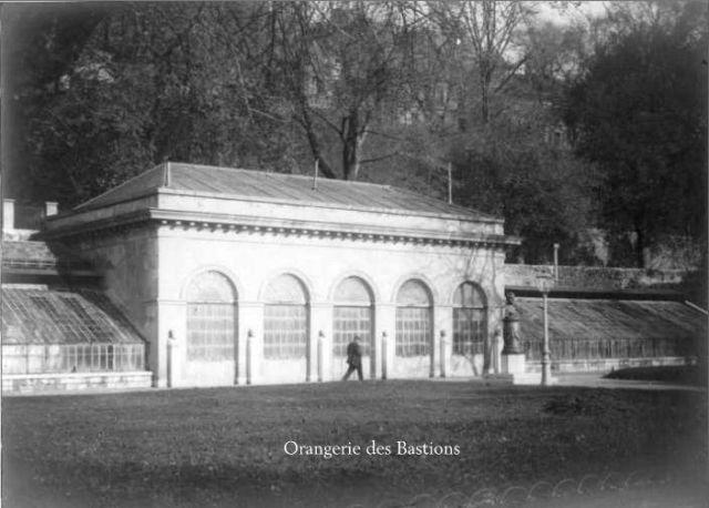 Geneve - Orangerie des Bastions 1