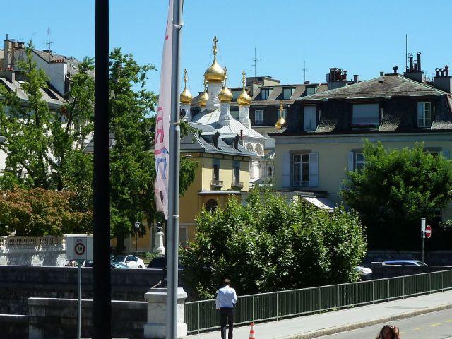 Genf, Bd. Helvétique P1350641 Orosz tmpl
