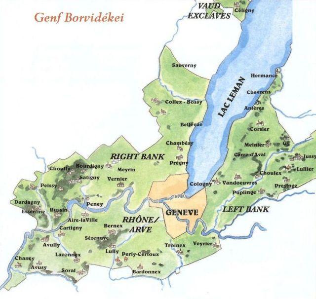 Genf borvidékei