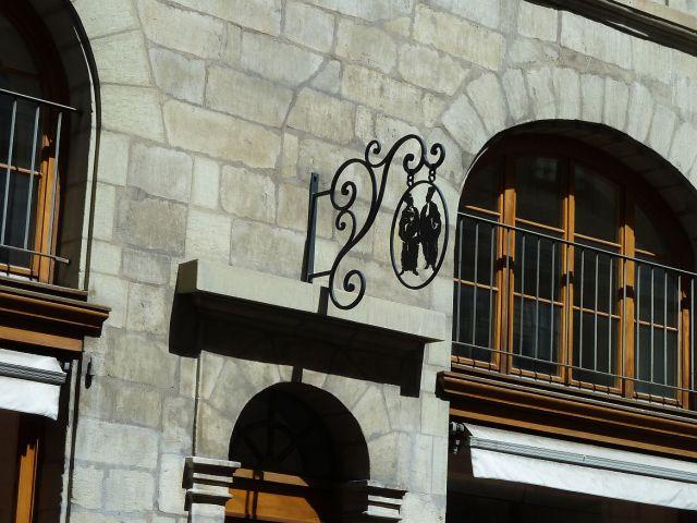 Genf, P1360914 Rue Beauregard