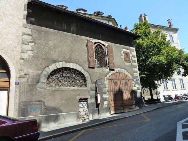 Genf, P1360917 Rue Beauregard