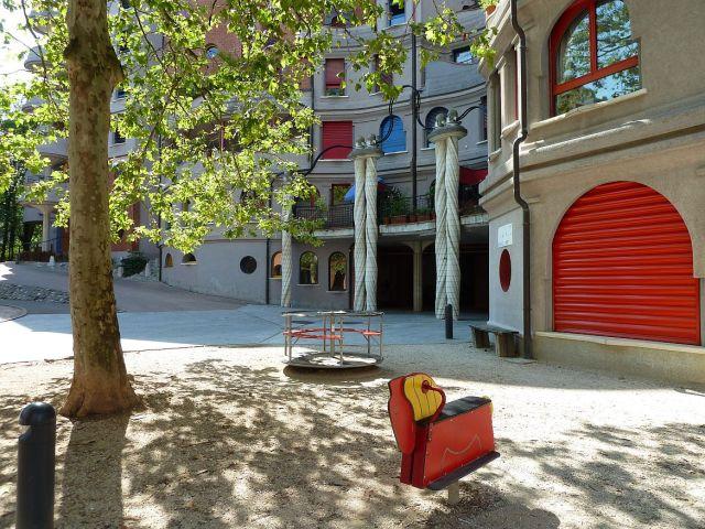 Les Schtroumpfs, Genf P1370313