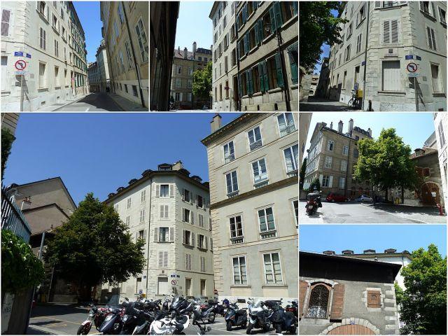 Genf, Liszt ház - kollázs