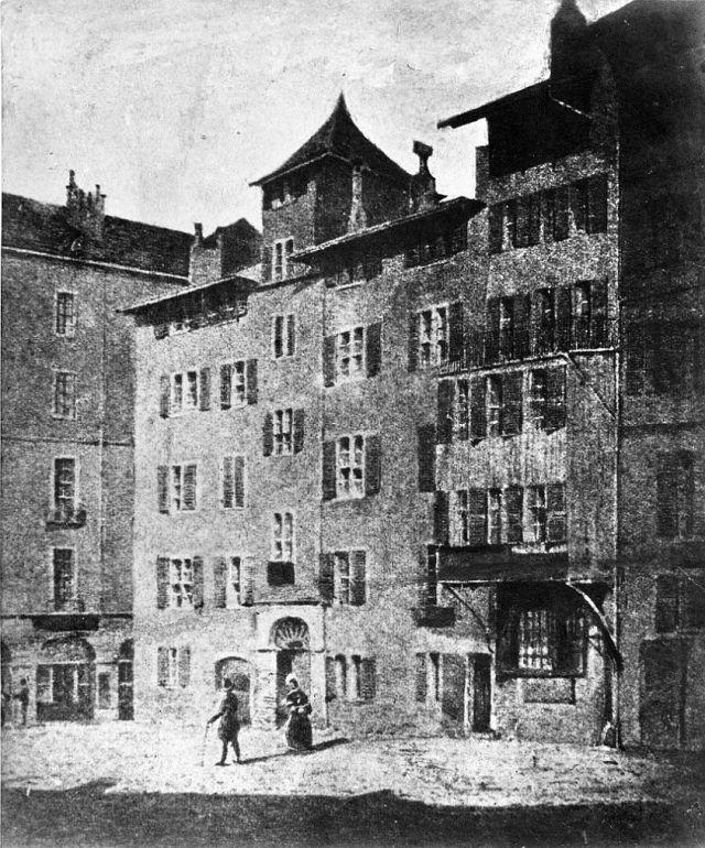 Maison Pelletier, Genf 1900 előtt