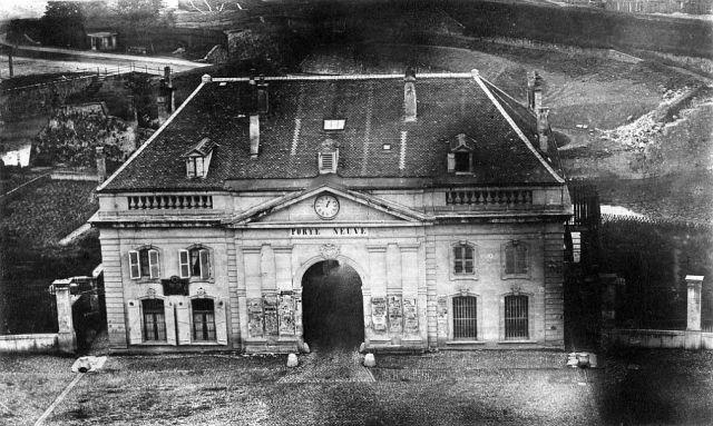 Porte Neuve, Genf 1900 előtt