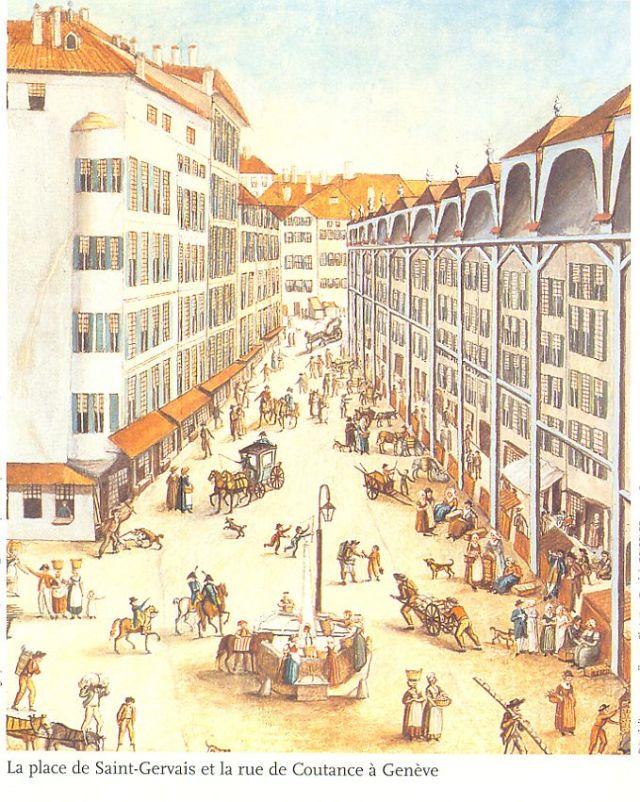 Saint Gervais et rue Coutance