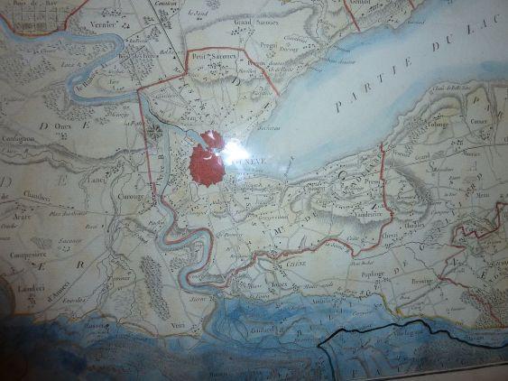 Genf és környéke 1776