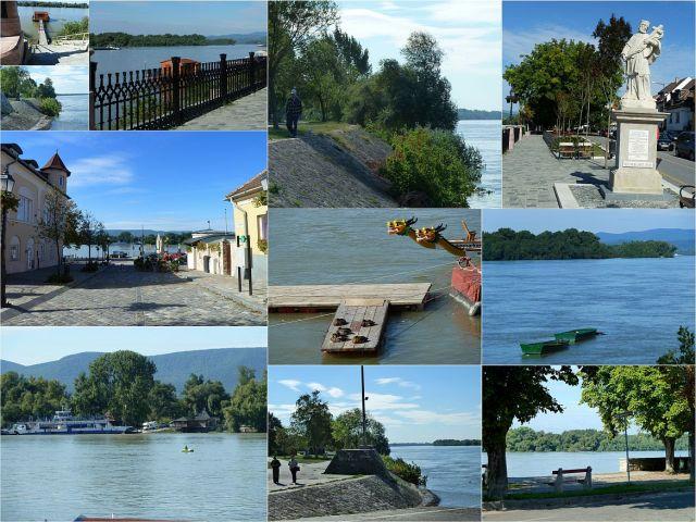 Vác, Dunapart kollázs