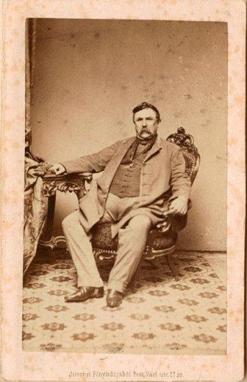 Deák Ferenc vizitkártya 1861