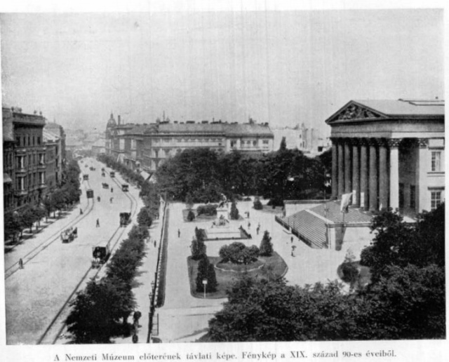 Nemzeti Múzeum 1890-es évek