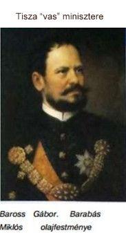Baross Gábor _Barabás festmény