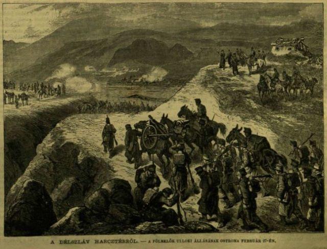 Délszláv harctérről, Vasárnapi Ujság 1882. márc.26