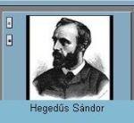 Hegedüs Sándor, dia