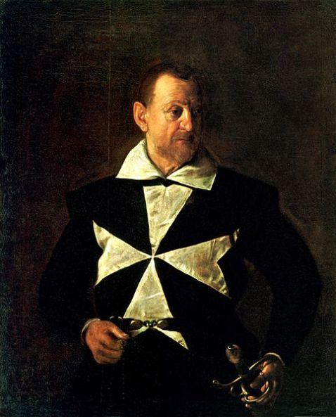 Caravaggio Portrait_of_Fra_Antonio_Martelli(1610)