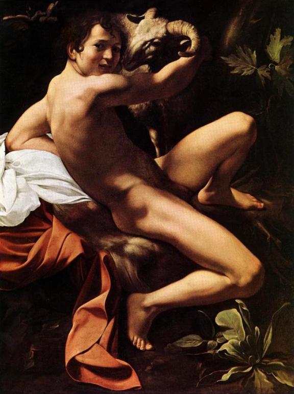 Caravaggio_ Keresztelő Szent János 1602, Roma