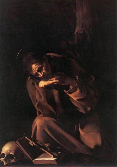 Caravaggio_Szent Ferenc, Cremona,1606