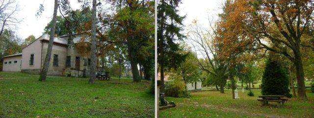 Kastély park - Horpács