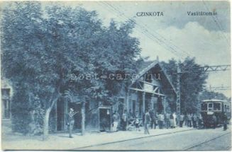 Cinkotai állomás-képeslap L_-12001