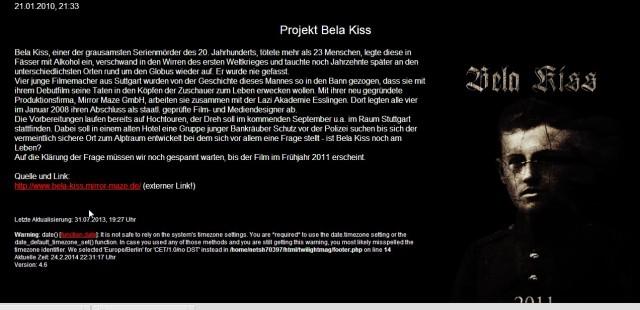 Kiss Béla projekt