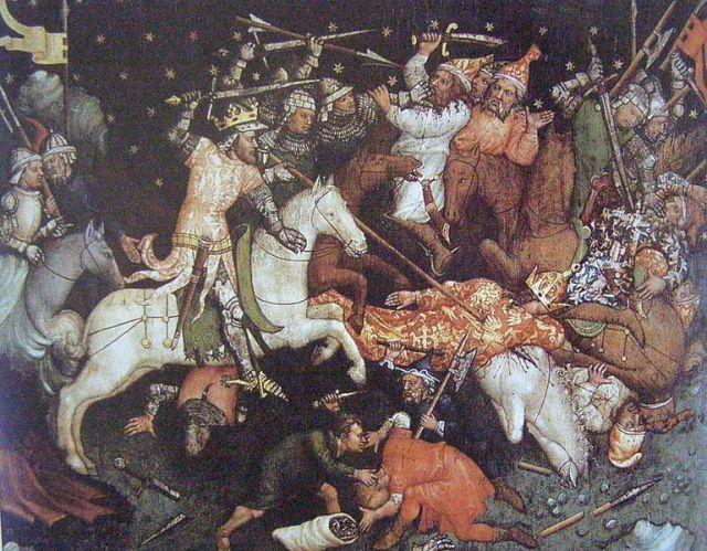 Nagy Lajos győzelme a törökök felett Bulgáriában 1320-1340 Magyar -Anjou Legendárium
