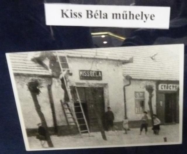 Rendőrségi Múzeum P1430157 Kiss Béla műhelye