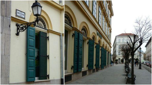 Belváros Szomory D.tér- Bárczy I. utca. kollázs