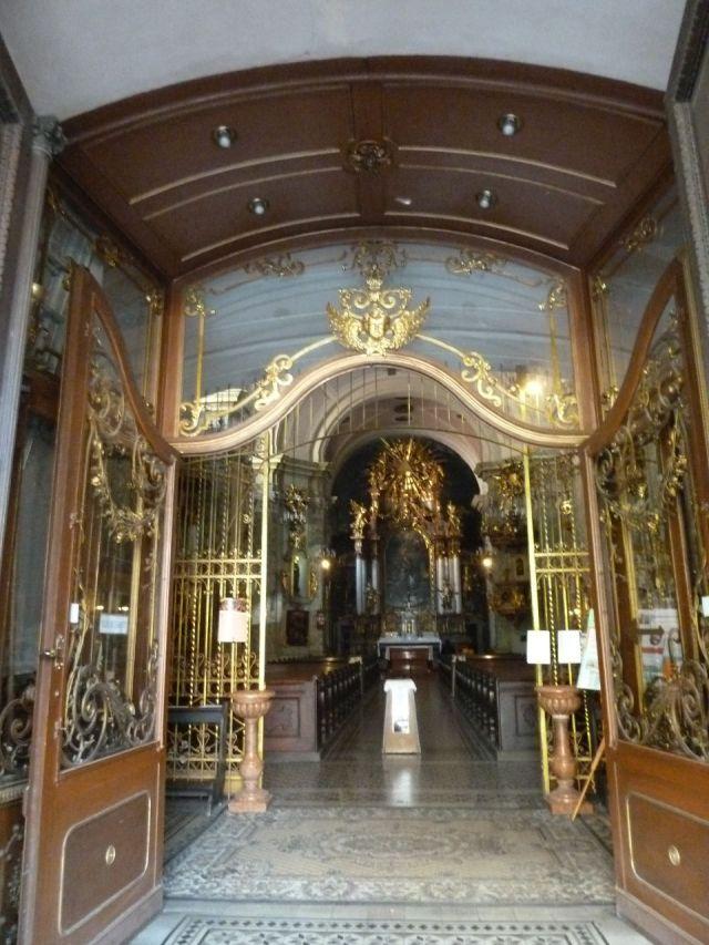 Szervita tér, Szent Anna templom bejárat P1430842