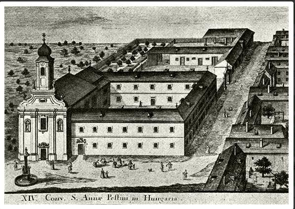 szervita_templom_és_kolostor_az_1730-as_években