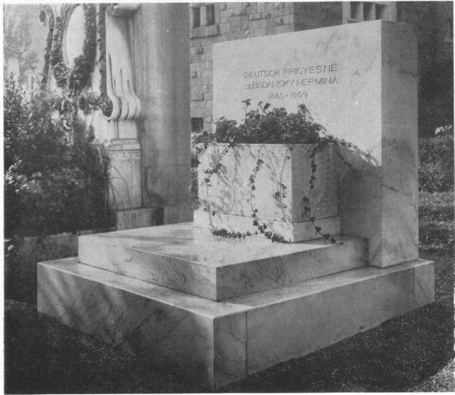 Deutsch Frigyesné, -1910 k