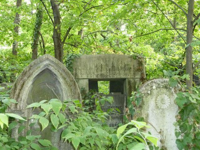 Salgótarján u. Zsidó temető P1390839 2013.10.06. Beimel Jakab és felesége Sauer Cecilia 1908