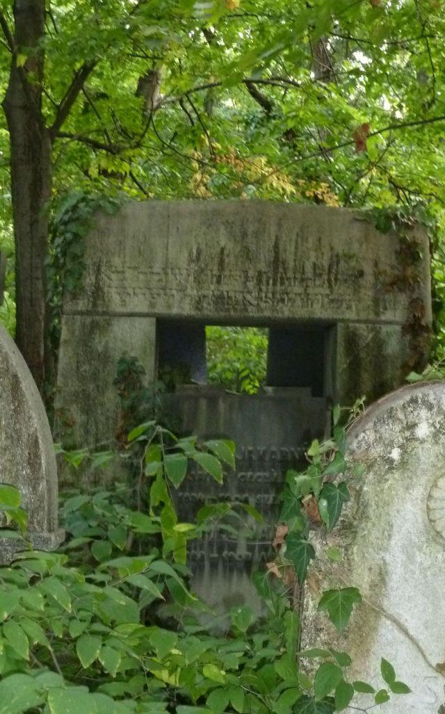 Salgótarján u. Zsidó temető P1390842 2013.10.06. Beimel Jakab és felesége Sauer Cecilia 1908