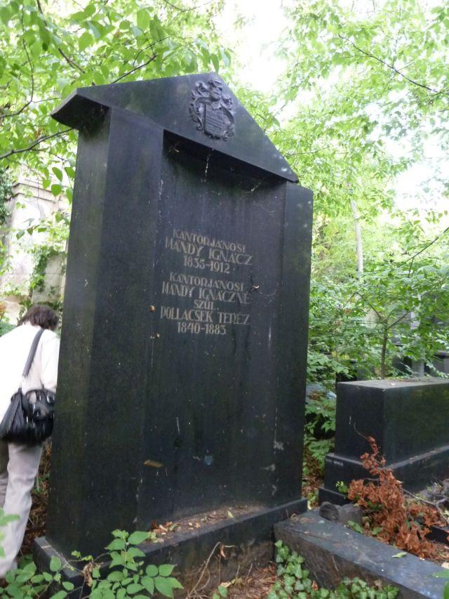 Salgótarján u. Zsidó temető P1390884 2013.10.06. kántorjánosi Mándy Ignác 1913