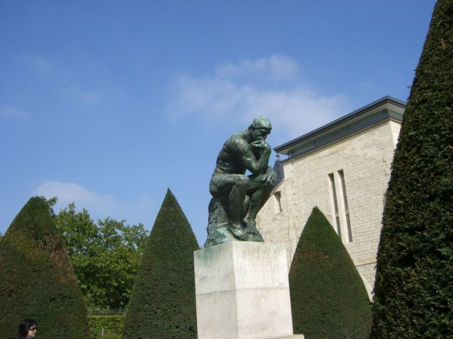 0888 Rodin múzeum Gondolkodó -Le Penseur 2007.08.26.