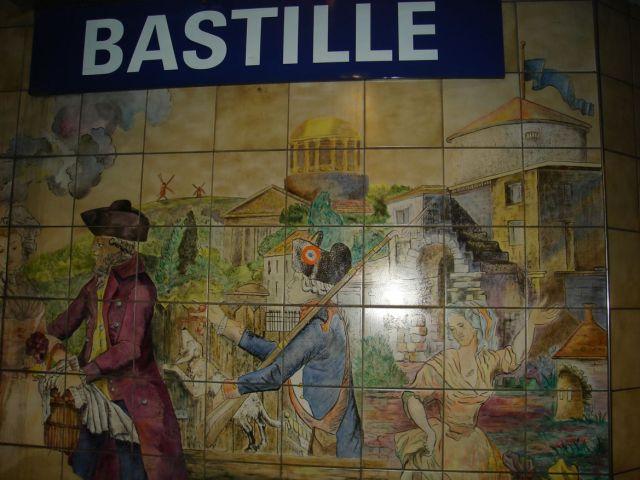 1151 Negyedik nap vége Bastille metro állomáson 2007.08.26