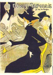 Toulouse Lautrec - Divan japonais plakát