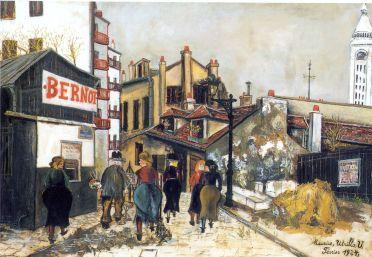 Utrillo La Maison Bernot, 1924