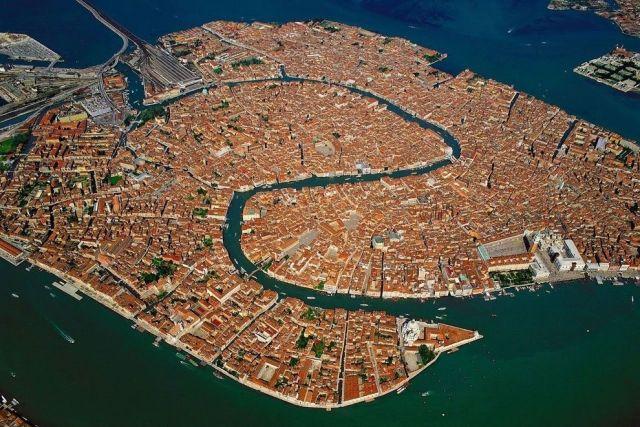 légifelvétel, Velence